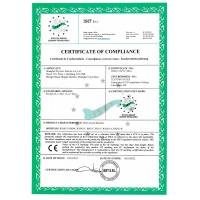 Certificate of compliance-No.2